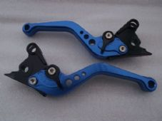 Ducati 748/750SS (99-02), CNC levers short blue/black adjusters, DB80/DC80